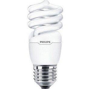 12 Lampadas Eco Twister 15w E27 127v Branco Quente Philips