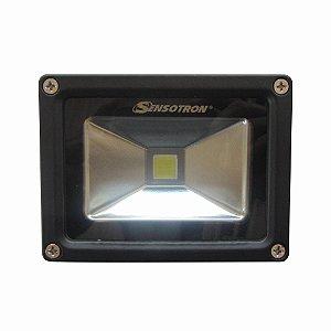 Refletor LED Cob Epistar 20W Bivolt  Branco Frio
