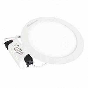 Luminária Circular de Embutir Sensotron 18W - Quente