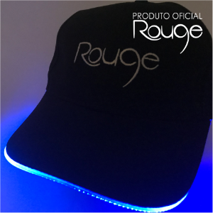 Boné Led Rouge - Produto Oficial