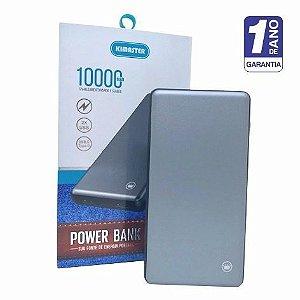 Power Bank Potente 10000mah De Alumínio - Garantia De 1 Ano