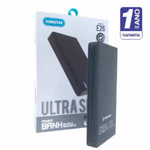 Power Bank 3500 Mah Ultra Slim Leve E Potente