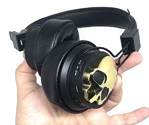 Headphone Fone de Ouvido de caveira