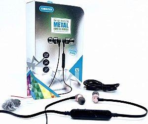 Fone de Ouvido Extra Bass K25 - Bluetooth - Controle de volume e atendimento de chamadas