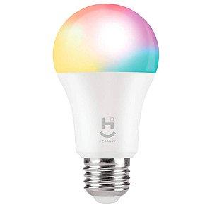 HI Geonav Lampada Inteligente RGB+W com soquete E27 Bivolt