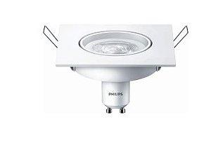 Lâmpada LED Spots 50W GU10 Branco Quente