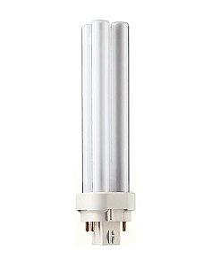 Lâmpada Fluorescente MASTER PL-C 26W 4 Pinos Branco incandescente