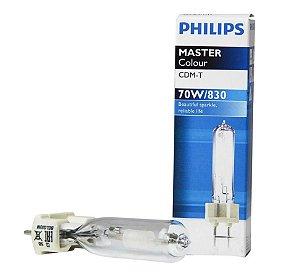 Lâmpada Vapor Metálico Tubular 70w G12 Bipino Philips