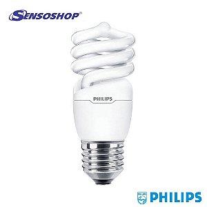 Lâmpada Philips Eletrônica Espiral Eco 23W Amarela E27 2700K 6000H - 110V