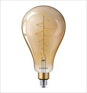 Lâmpada Vintage Retrô LED Classic Giant E27 6.5W A160 Quente 220V Philips