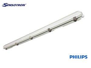 Luminária Hermética TCW063 130cm Philips 38W Prova De Água