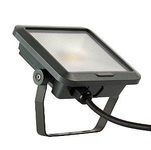 Refletor Led Holofote 30w Branco Quente Philips 2400lm Bivolt