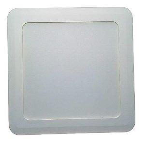 Painel de Led Quadrado sobrepor 5W Branco neutro  Bivolt PHILIPS
