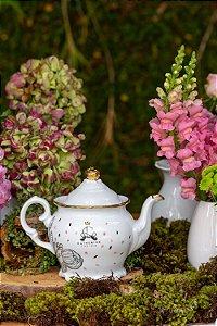 BULE DE PORCELANA CATHERINE FINE TEAS