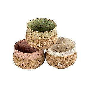 Copo Rustic de cerâmica