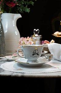 Xícara de porcelana - Coleção Catherine Fine Teas
