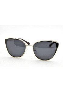 Óculos de Sol Feminino Color People RP Nude + Estojo Brinde