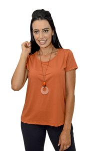 Tshirt Color People Larissa Terracota
