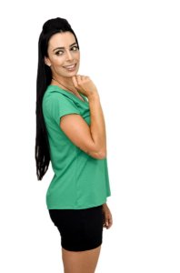 Tshirt Color People Larissa Green