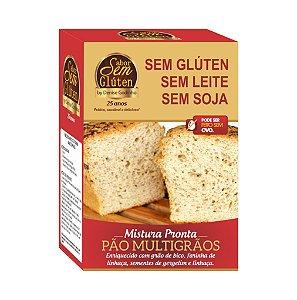 Mistura para Pão de Forma Multigrãos Sem Glúten Sem Leite Sem Soja