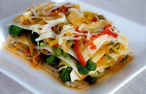 Lasanha Vegetariana CONGELADA Sem Glúten Sem Lactose (300g)