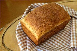 Pão de Forma Tradicional Sem Glúten Sem Lactose - 01 Unidade