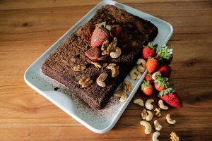 Brownie Funcional Diet  Sem Glúten Sem Lactose Sem Açúcar  (100g)