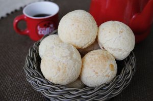 Massa de Pão de Queijo-CONGELADA (Pronto para Assar) - Sem Glúten Sem Lactose 12 Unidades
