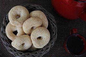 Massa de Biscoito de Queijo Enrolado-CONGELADA (Pronto para assar) Sem Glúten Sem Lactose - 12 Unidades