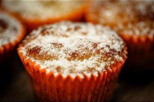 Bolo de Mandioca com Coco Low Carb Sem Glúten Sem Leite Sem Lactose Sem Açúcar - 04 Unidades