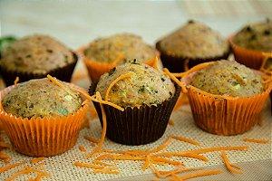 Muffin Nutritivo Low Carb CONGELADO Sem Glúten Sem Lactose - 06 Unidades