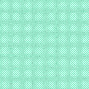 Tricoline Estampado Micro Poá Azul Cotton, 100% Algodão, Unid. 50cm x 1,50mt