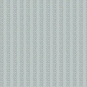 Tricoline Estampado Molinhas Cinza, 100% Algodão, Unid. 50cm x 1,50mt