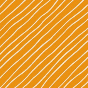 Tricoline Orange Diagonal, 100% Algodão, 50cm x 1,50mt