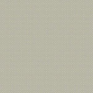 Tecido Tricoline Poá Cinza, 100% Algodão, 50cm x 1,50mt