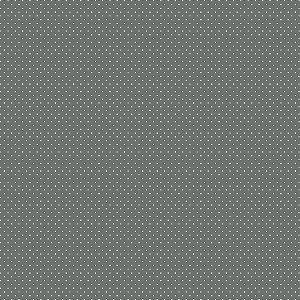Tecido Tricoline Poá Chumbo, 100% Algodão, 50cm x 1,50mt