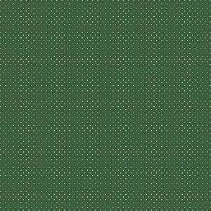 Tecido Tricoline Poá Verde Floresta, 100% Algo, 50cm x 1,50m