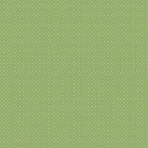 Tecido Tricoline Poá Grama, 100% Algodão, 50cm x 1,50mt