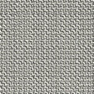 Tricoline Pied de Poule Cinza, 100%Algodão, 50cm x 1,50m