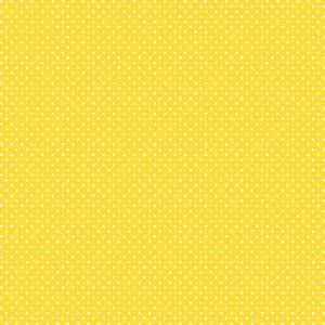 Tricoline Poá Peri Branco F. Amarelo, 100%Alg, 50cm x 1,50mt