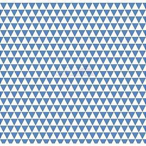 Tricoline Estampado Triângulos Ternura - Cor-05 (Azul), 100% Algodão, Unid. 50cm x 1,50mt