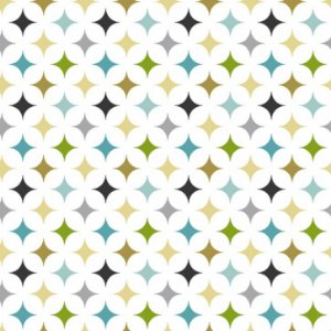 Tecido Tricoline Multi Stars, 100% Algodão, 50cm x 1,50mt