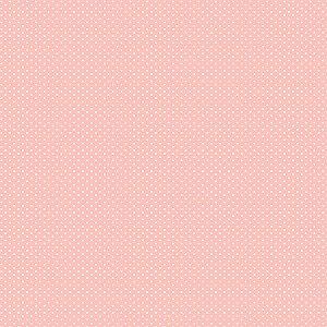 Tricoline Micro Poá Rosé, 100% Algodão, 50cm x 1,50mt