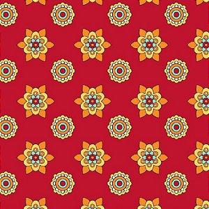 Tecido Tricoline Mandalay, 100% Algodão, 50cm x 1,50mt