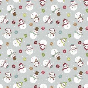 Tricoline Natal Candy Christmas 04, 100%Algod, 50cm x 1,50mt
