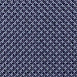Tricoline Quadradinhos Marinho, 100% Algodão, 50cm x 1,50mt