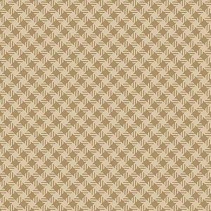 Tricoline Quadradinhos Caramelo, 100% Algodão, 50cm x 1,50mt