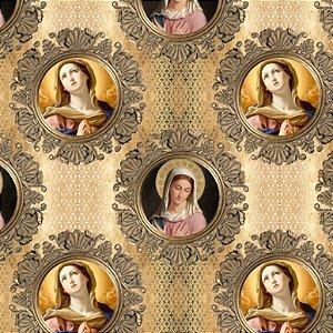 Tricoline Digital Religiosos 100% Algodão, 50cm x 1,50mt