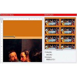 Tricoline Digital Religiosos 100% Algod, Unid. 39cm x 1,50mt