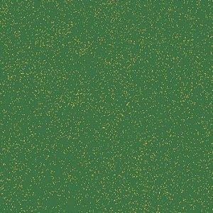 Tricoline Natal Estonado Verde, 100% Algod, 50cm x 1,50mt